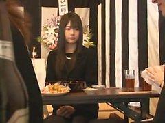 asiático mamada paja japonés al aire libre