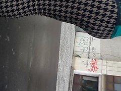 piilotettu kamerat teini-ikä tirkistelijä spandex jooga