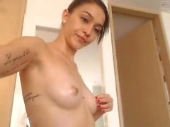 Shy amateur web cam playing with her pussy close up