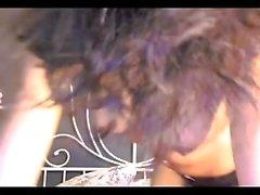 nero ed ebano assolo striptease adolescente webcam