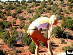 blond hd masturbation de plein air petits seins
