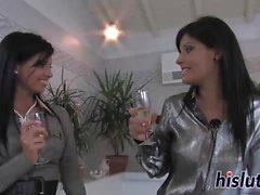 Hot lesbian action starring Sabina and Veronica