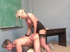 teacher student shemale the a fucks engish