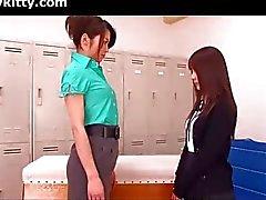 lesbisch aziatisch japanse milf