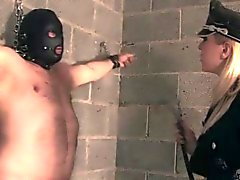 BDSM domina whips futile sub