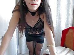 trans dilettante latice biancheria intima