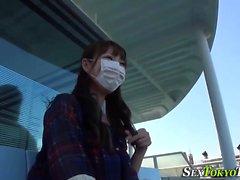 asiatico hd giapponese masturbazione all'aperto