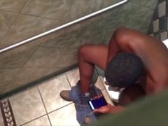 caught straight men jerking in public toilet