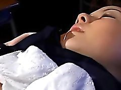 asiatisk babe brunett