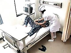 Horny dude goes to the hospital and nails a smoking hot nur
