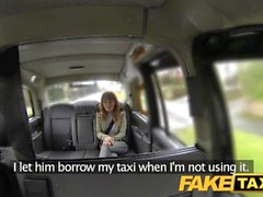 FakeTaxi Red head with nice natural tits does anal