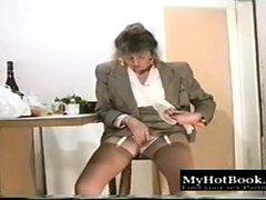 dilettante hd masturbazione calze