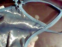 3 panties 1 cumshot