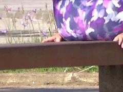 delicia Malhando no parque