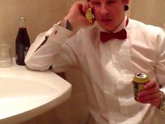Str8 fun play - buddy in the toilet
