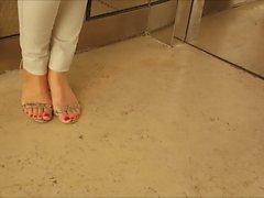 fétichisme des pieds israélien videos hd ascenseur
