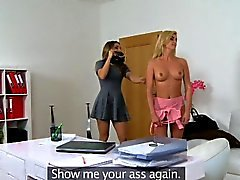 FemaleAgent Agent loves sexy hot blondes figure