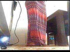 Indian - Desi punjabi chubby housewife from delhi masturbation on cam