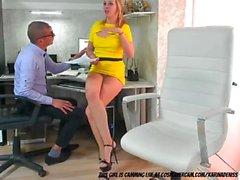 gerade webcam nocken büro sekretär