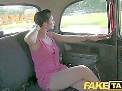 FakeTaxi - Prague beauty in a london taxi