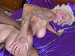 Gracious moments of interracial xxx with Harlow Harrison