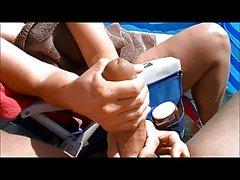 amateur strand klaarkomen