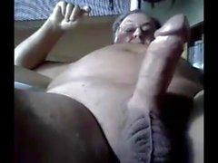 grandpa stoke on webcam