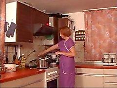 Kitchen Mature Fingered Spanked & Fuked xLx