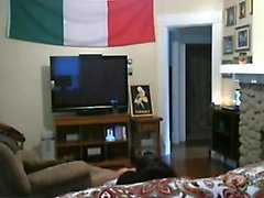 Italiano all'estero fotte sotto il tricolore