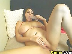 sologirl masturbation brünett big tits