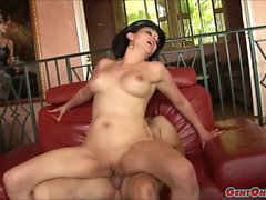 Cassidy Lynn Swallowing Cock And Fucked