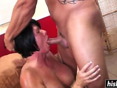 Shay Fox enjoys some hard slamming