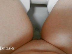 Amateur Public PIss in Toilet female POV