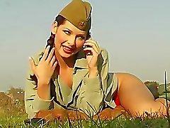 camelo dos pés close-up calcinhas exército