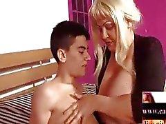 paar orale seks volwassen blond