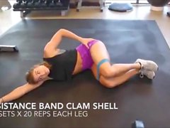 loiras vídeos em hd uma mulher musculosa fitness