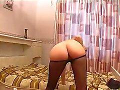 pantyhose lady jurking