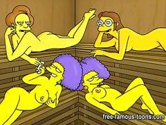 aikuisten sarjakuvia animaatio sarjakuva seksiä