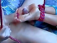 trabajando con el pie pies