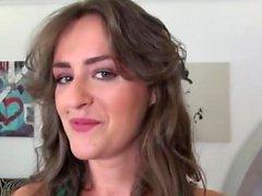 babe brunett europe hardcore