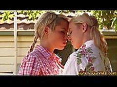 Pissing australian lesbo