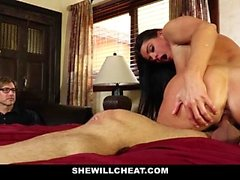 SheWillCheat - Stepmom Caught Using Dildo