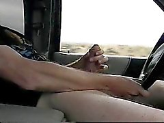 Jacking off while driving (no cum)