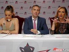 DP Star 3 - Hot Petite Pornstar Sydney Cole Deep Throat Blowjob