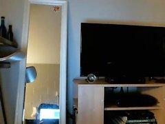 Panties ass solo striptease webcam