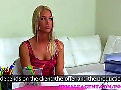 femaleagent dilettante audizione colata agente