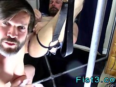 Nude male models fisted gay first time Punch Fisting Bo