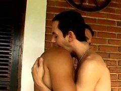 Davi Maia and Mauro Reis enjoy a wonderful breakfast of