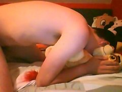 Kion enjoy 2 (Cum on his butt)
