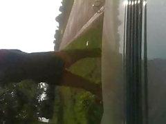 любительский мигающий на открытом воздухе по улице